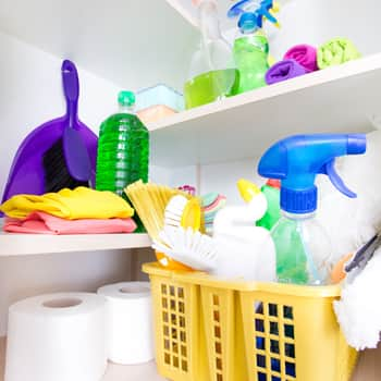Where To Cleaning Supplies