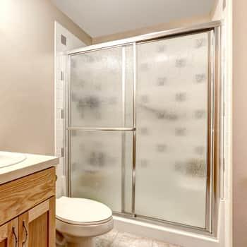 How To Clean Shower Door Tracks Merry, Shower Stall Glass Doors Clean